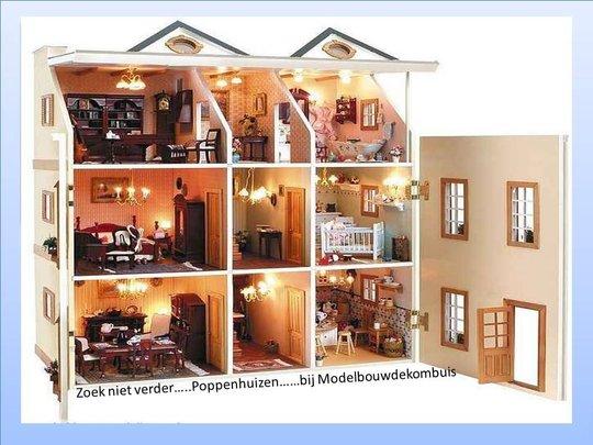 Modelbouw-Poppenhuizen