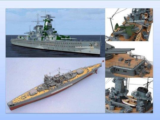 Marine-&-Oorlogsschepen