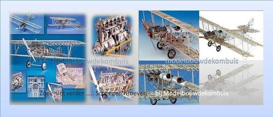 Modelbouw-Hout-Vliegtuigen