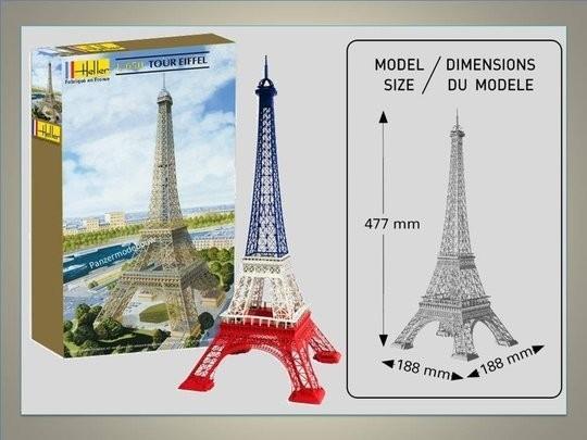 Modelbouw-Eiffeltoren