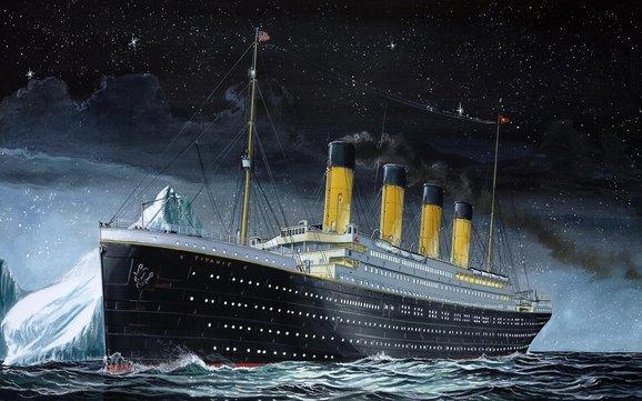 Titanic op zee