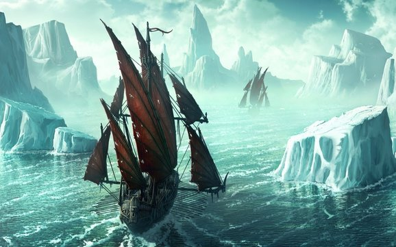 IJs en schepen ???? altijd gevaarlijk