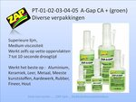ZAP-A-GAP CA + (groen)