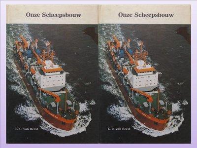 Boek Onze Scheepsbouw