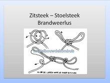 Zitsteek / Stoelsteek