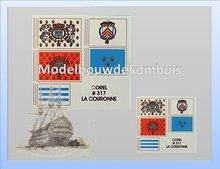 Vlag La Couronne