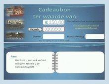 Cadeaubon 150,00 euro