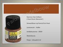 Hout Bruin No. 9 Glans