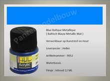 Baltisch Blauw No.52 Metallic