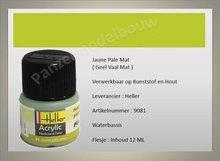 Geel Vaal No.81 Mat