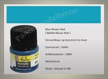 Middel Blauw No.89 Mat