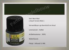 Zwart Groen No.91 Mat