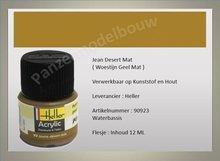 Woestijn Geel No.93 Mat