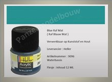 Blauw Raf No.96 Mat