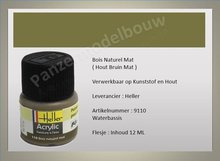 Hout Bruin No.110 Mat