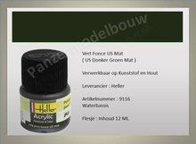 US Donker Groen No.116 Mat
