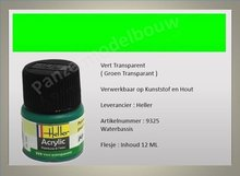 Groen No.325 Transparant