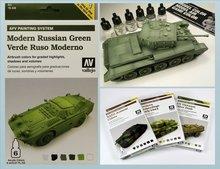 AFV Verde Ruso Moderno