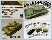 AFV Africa Korps Aleman 1941-1942 (DAK)