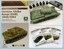 AFV Afrika Korps Aleman 1942-1944 (DAK).