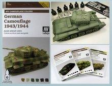 AFV Camuflaje Alemán 1943-1944
