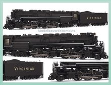 Blue Ridge DCC-ready Virginian Railways