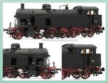 DC FS, stoom locomotief class Gr.940