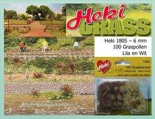 Graspollen Lila - Wit