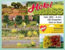 Graspollen Rood - Geel