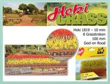 Grasstroken Geel-Rood