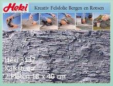 Kalksteen 18x40 cm