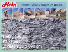Kalksteen 35x80 cm