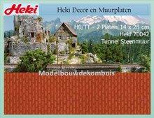 Tunnel steen 14x28 cm