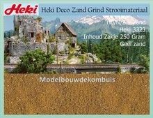 Geel zand 250 gram