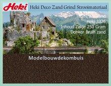 Donker Bruin zand 250 gram