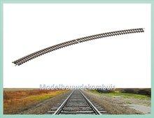 Gebogen Rail 45°