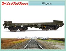 Low side wagon green, type Rmms