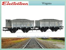 Set with two wagons