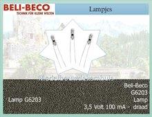3,5 volt 100mA Lamp