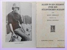 Boek Alleen in een zeilboot