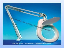 Flexible Round Magnifier Lamp