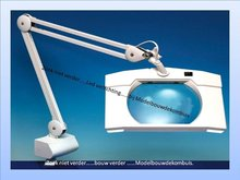 Rectangular Wide Lens Magnifier Lamp