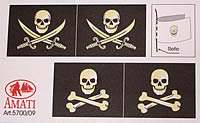 Vlag Piratenschip