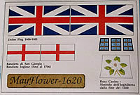 Vlag Mayflower