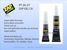 ZAP GEL CA PT26 - PT27