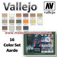 Aarde Kleuren Set Vallejo Modelbouwverf