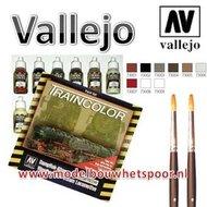 Trein Kleuren verfset van Vallejo