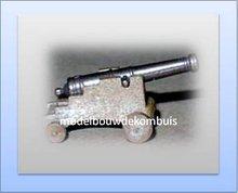 Kanonnen hout metaal
