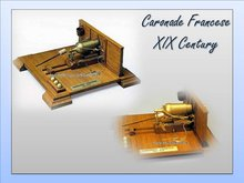 Caronada Francese XIX Century