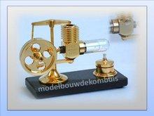 Stirlingmotor-(Groot)-Goud